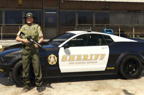 Sheriff Texture for Police Dominator