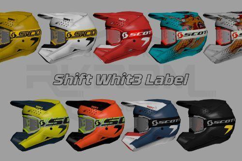 SHIFT Whit3 Label Helmet + SCOTT Fury Goggles