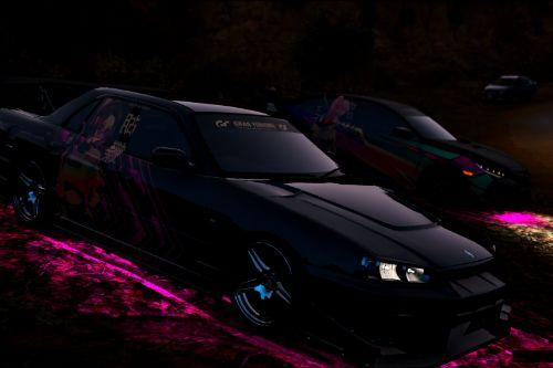 Shinobu Kocho for URAS-SKYLINE ER34 D1-Spec/Type-GT