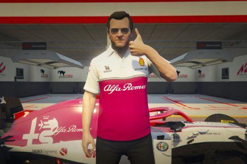 Shirt Alfa Romeo for michael