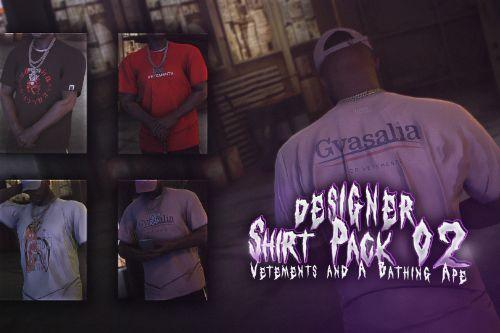 Shirt Pack 02 for MP Male