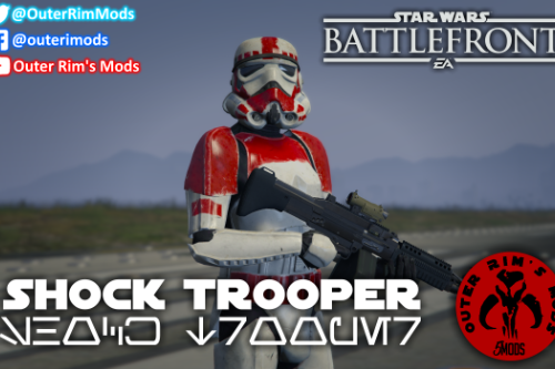 Shock Trooper [Add-On / Replace Ped]