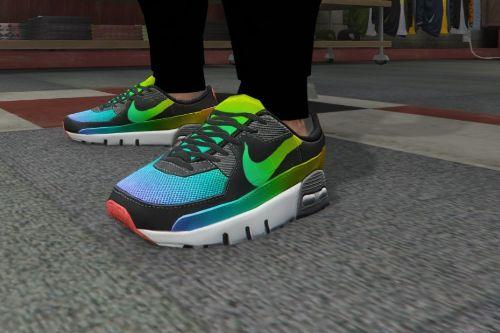 Shoes Air max template (FiveM Ready) mp male , femal baskets packs