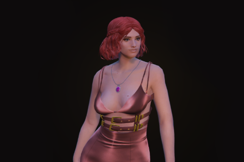 Short braided hairstyle for MP Female