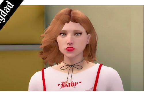 Short Hairstyle For Female (SP/FIVEM)
