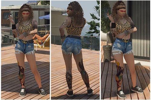 Short Jeans (Mp Female)