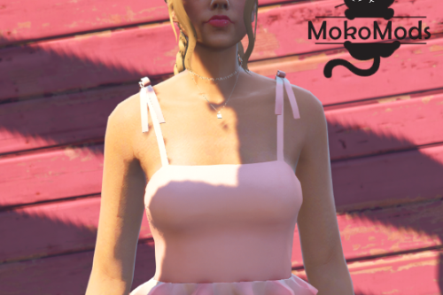 Short Top with Bows for MP Female
