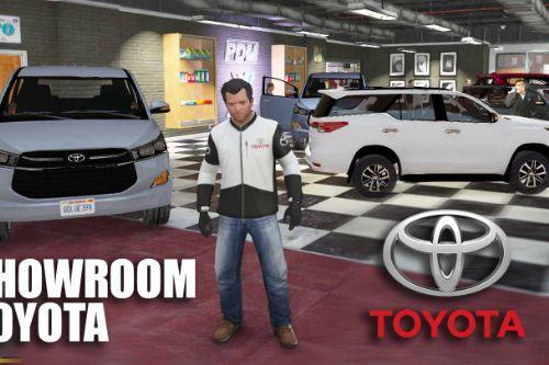 Showroom TOYOTA Dealership   Cửa Hàng TOYOTA [Menyoo]