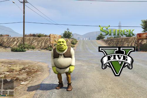 Shrek [Add-On Ped]