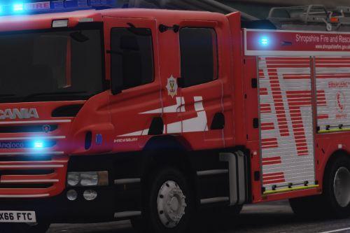 Shropshire Fire & Rescue Service Scania