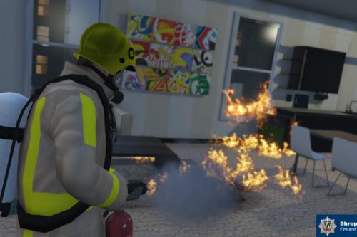 Shropshire Fire & Rescue Service Uniform