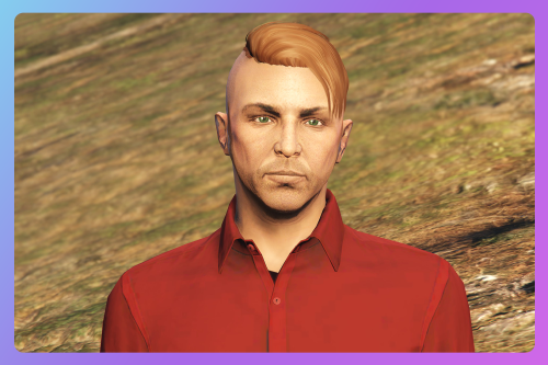 Side shaved hairstyle for MP Male