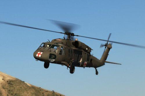 Sikorsky MH-60S Knighthawk US Army (MEDEVAC) Texture