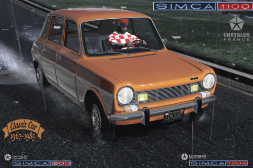 SIMCA 1100 | 1200 | 1204  [Add-On | LODS]