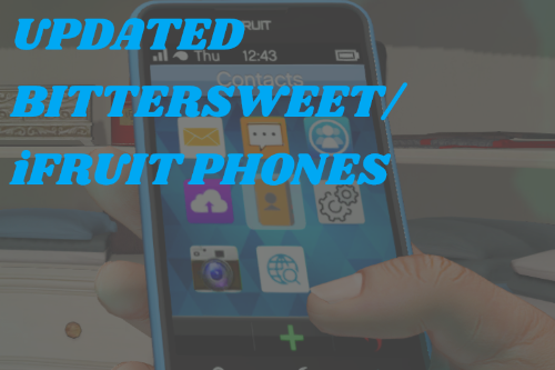 Simple and Beautiful Updated BitterSweet/iFruit phone
