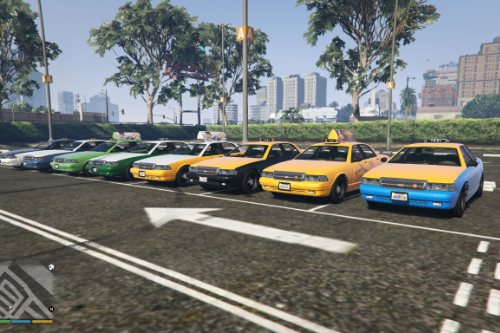 Simple carvariations for vanilla Taxi