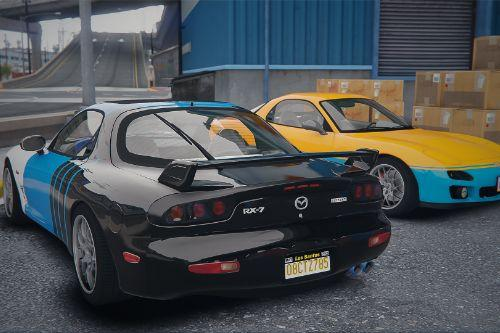 Simple Liveries For Mazda RX7 FD3S