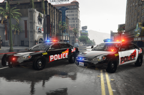 Simple Lspd Livery For 2014 Chevrolet Impala [ 2K / 4K ]