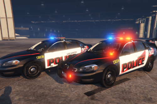 Simple Lspd Livery For 2014 Chevrolet Impala