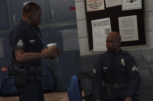 Simple Law Enforcement Peds Retexture