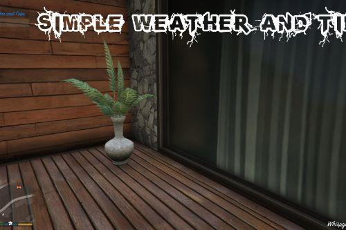 34e779 simple weather and time1