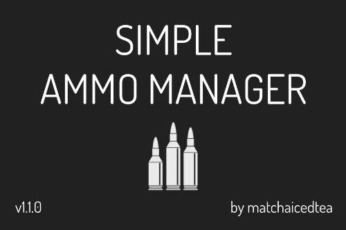 Simple Ammo Manager