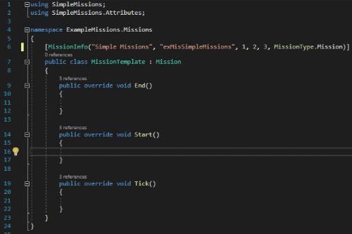 SimpleMissions API