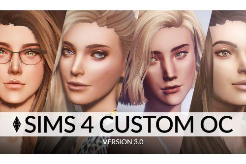 Sims 4 Custom Female Ped  [Add-On Ped | Replace]