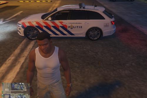 821b75 politie audi 7
