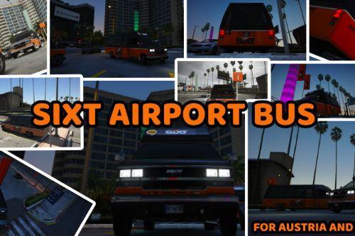 Sixt Airport Bus - Optional for Austria | Sixt Flughafenbus - Optimiert für Österreich