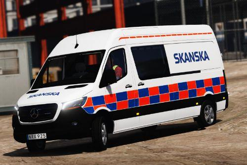Skanska Mercedes Benz Sprinter
