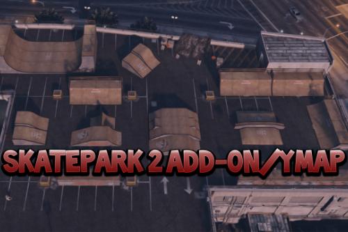 Skatepark 2 [YMAP / XML / FiveM]
