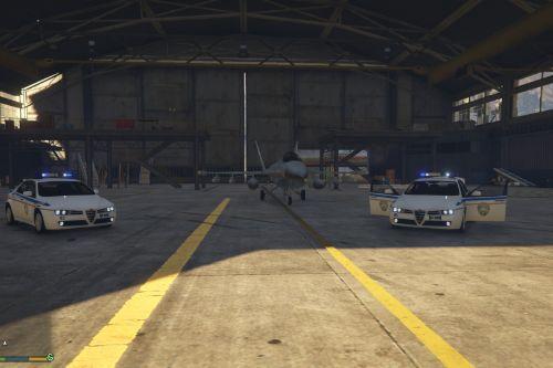 Skin Alfa Romeo U.S. Air Force Military Police