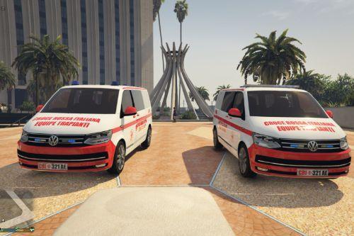 Volkswagen  Croce Rossa Italiana Paint Jobs