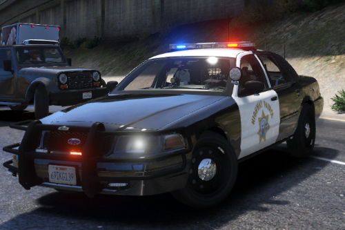 Skin for Crown Victoria Police