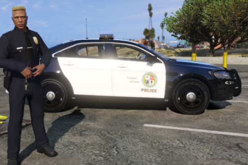 Skin for Ford Taurus Police 2016