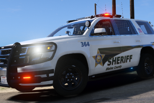 Skin for Police Ford Explorer 2016 Shriff and Chevy Tahoe