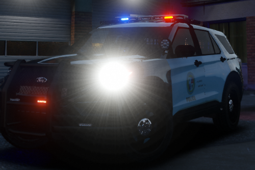 Skin for Police Ford Explorer 2020