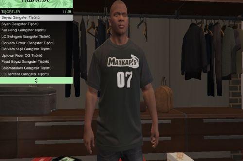 Matkap's T-Shirt for Franklin