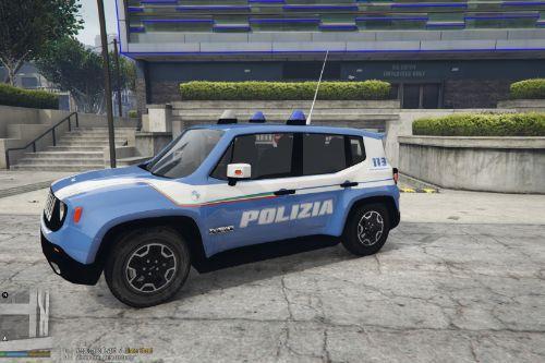 Skin Jeep Renegade Polizia di Stato Reparto Prevenzione Crimine