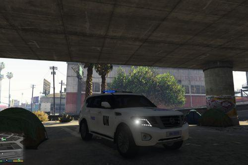 SKIN Nissan UN Police