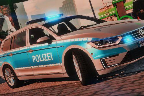 Skin: Passat GTE Landespolizei Hamburg