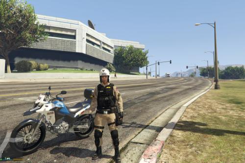 skin PMMG patrulha de moto