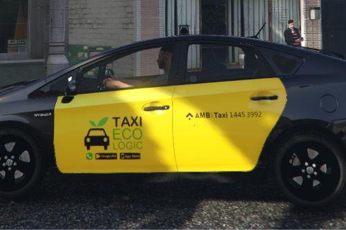 Skin taxi Prius Bcn
