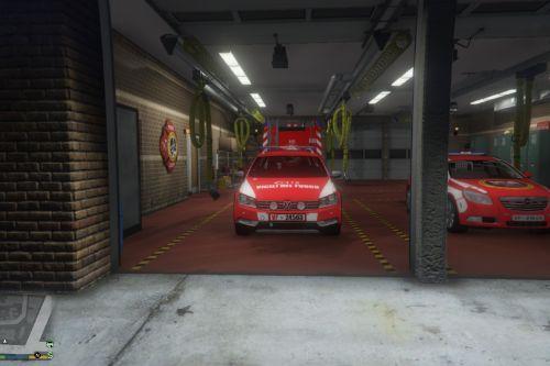 Volkswagen Passat B7 Vigili del Fuoco (Fire fighters)