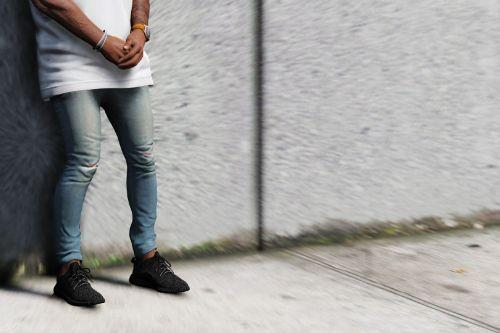 Skinny Distressed Jeans Pack