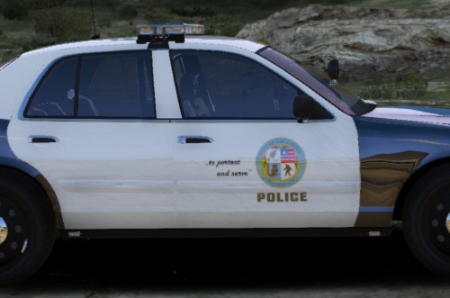 Police Skinpack for Crown Victoria