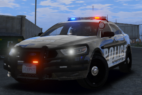 Skins for Police Ford Taurus 2016 Interceptor