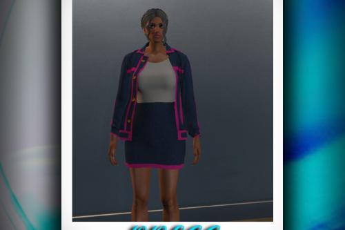 Skirt with Blazerfor MP Female