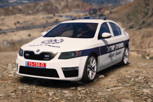 Skoda Octavia 2016 | Israel Police | PaintJob